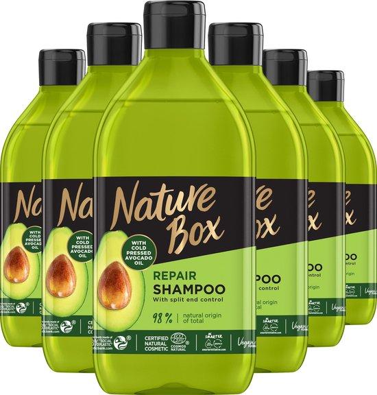 Nature Box Avocado Shampoo 6x 385 ml - Voordeelverpakking
