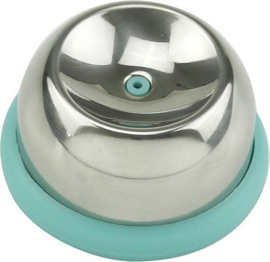 Happy Products | Eierprikker | Blauw | RVS | Keukengerei | Roestvrijstaal | Ei | Keuken accessoires