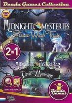 Pc Cd Rom - Midnight Mysteries 2 & 3