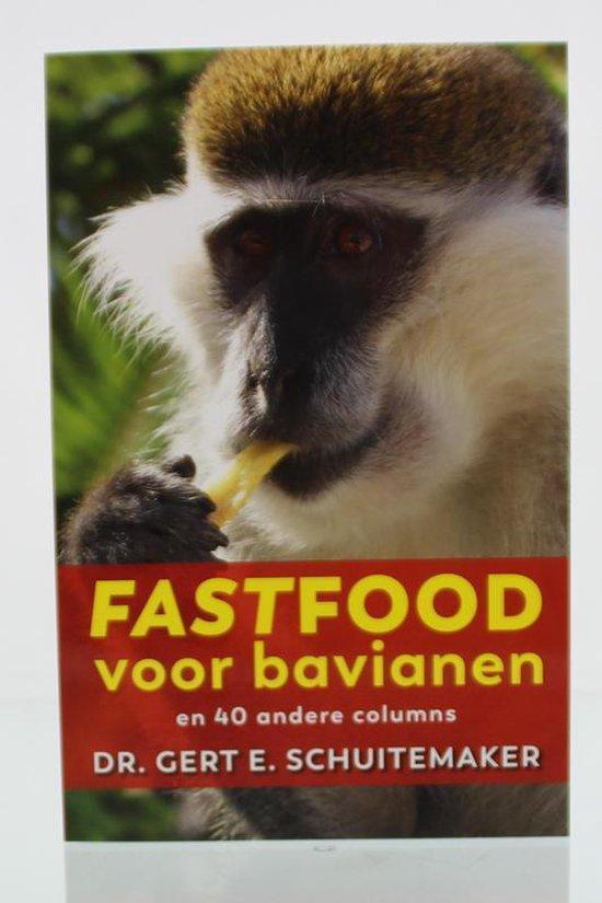 Boek cover Ortho Dossier  -   Fastfood voor bavianen van Gert E. Schuitemaker (Paperback)