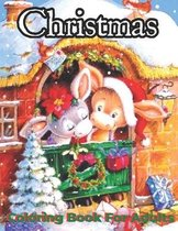 Christmas Coloring Book For Adults: An Adults Coloring Book With Fun, Easy And Relaxation
