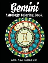 Gemini Astrology Coloring Book