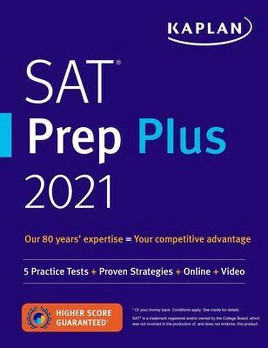 Boek cover SAT Prep Plus 2021 van Kaplan Test Prep