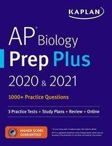 Boek cover AP Biology Prep Plus 2020 & 2021 van Kaplan Test Prep