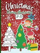 Christmas Coloring Book For Kids 2-5