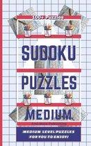 Sudoku Puzzle Book - Medium Level Puzzles