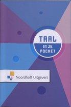 Boek cover In je pocket Taal van R. Backers