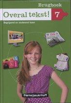 Boek cover Overal Tekst! Groep 7 Brugboek van Annemarie Bon