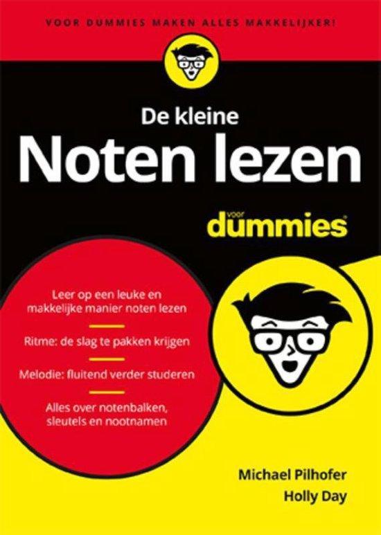 Boek cover Voor Dummies  -   De kleine noten lezen voor Dummies van Michael Pilhofer (Paperback)