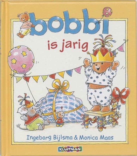 Boek cover Bobbi is jarig van Ingeborg Bijlsma (Hardcover)