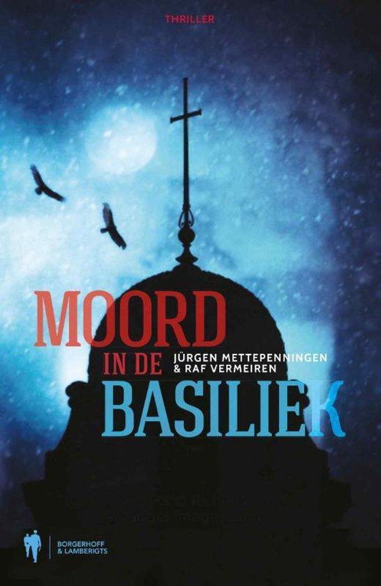 Cover van het boek 'Moord in de basiliek'