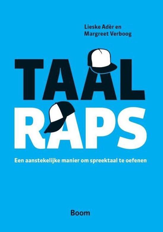 Boek cover Taalraps van Margreet Verboog (Paperback)