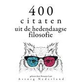 400 citaten uit de hedendaagse filosofie