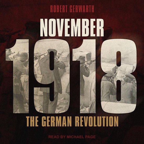 Boek cover November 1918 van Robert Gerwarth (Onbekend)