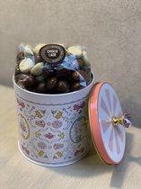 SINTERKLAAS cadeauset  Bakken met JILL BLIK KLEIN /CHOCO pepernoten( KRUIDNOTEN)