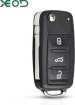 Autosleutelbehuizing - sleutelbehuizing auto - sleutel - Autosleutel / Volkswagen Golf 6 Polo 6R Up