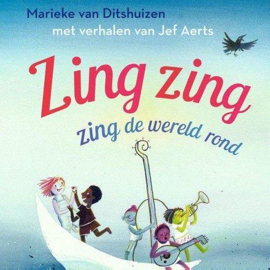 Boek cover Zing zing zing de wereld rond van Jef Aerts (Onbekend)