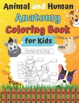 Animal and Human Anatomy Coloring Book for Kids: Ages 4-8 8-12 Veterinary Anatomy colouring Book