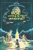Boek cover Hoe overleef ik mijn vakantie? van Francine Oomen