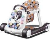 Loopstoel Jamie 2-in-1 - Interactief, speels en leerzaam - Geschikt voor baby's en peuters - Met muziek en lichtjes - Opvouwbaar - Uitneembaar zitje
