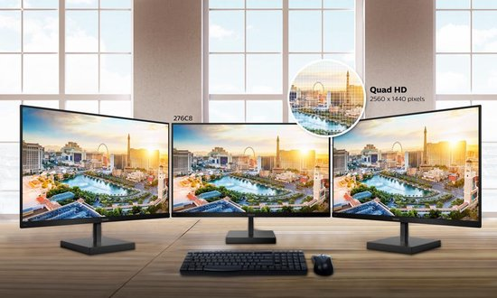 Philips 276C8 - QHD USB-C IPS Monitor - 27 Inch