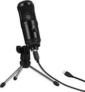USB Microfoon K1 - PC - Laptop Computer - Studio - Gaming - Podcast - Muziek - Video Call - PS4 - Plug & Play