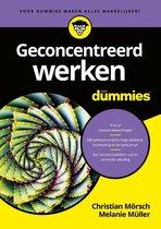 Voor Dummies  -   Geconcentreerd werken voor Dummies