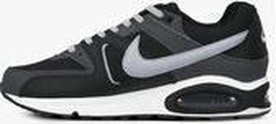 Nike Air Max Command Leather Sneaker - Zwart/Grijs - maat 44,5
