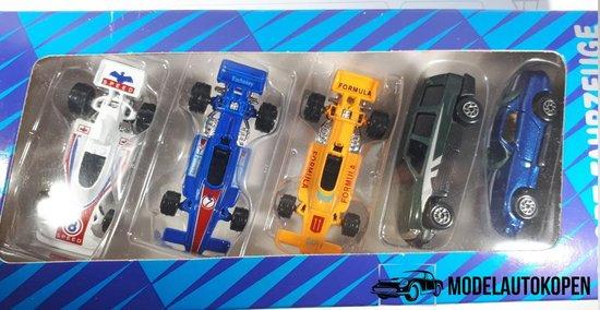 Afbeelding van Sport Fahrzeuge 6 Raceauto set (6 autos) - Modelauto - Schaalmodel - Model auto - Schaal model - Modelauto set - Cadeau set - Kerstcadeau Sinterklaascadeau voor kinderen speelgoed