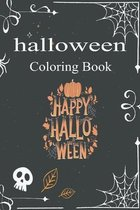 halloween Coloring Book Happy halloween