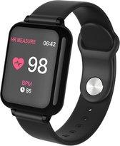 DrPhone - KidzOne Pro - Smartwatch voor Kinderen - Stappenteller - Hartslagmeter Nederlandstalige App - Zwart