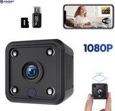 Spy Camera 1080P Full HD met WIFI en Nightvision incl. 32GB SD kaart - Beveiligingscamera voor binnen en buiten - Verborgen mini spycam met geluidsopname