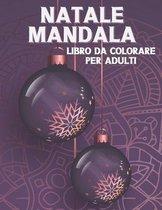 Natale Mandala Libro Da Colorare Per Adulti