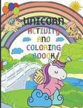 Unicorn Activity and Coloring Book