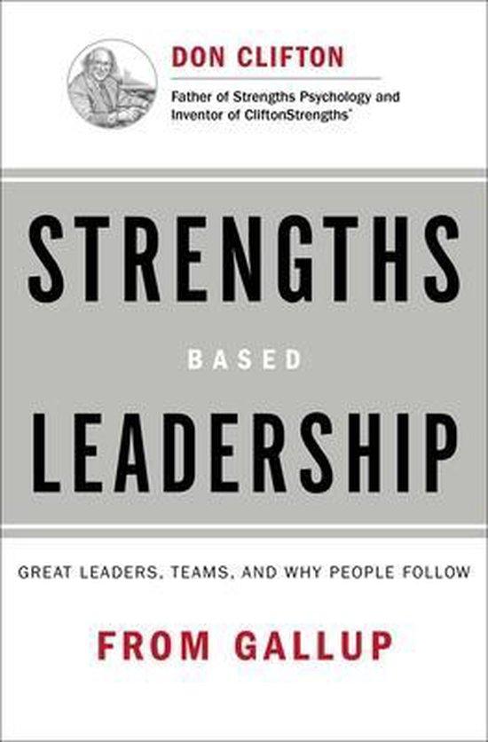 Boek cover Strengths Based Leadership van Gallup (Hardcover)