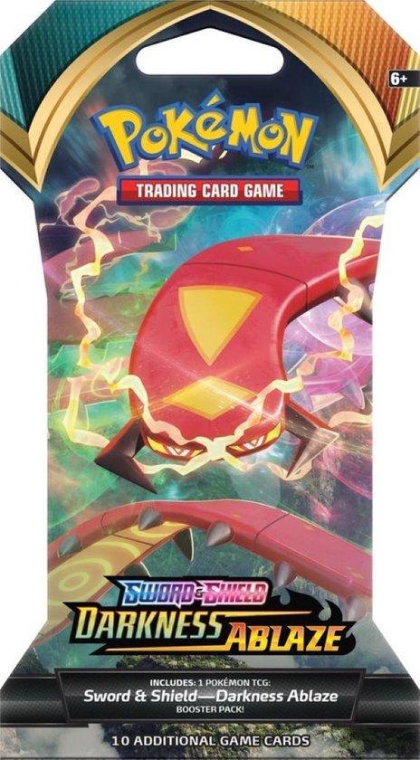 Afbeelding van Pokémon Sword & Shield Darkness Ablaze Sleeved Booster - Pokémon Kaarten