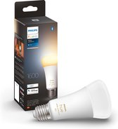 Philips Hue standaardlamp E27 Lichtbron - White Ambiance - 1-pack - 1600lm - Bluetooth