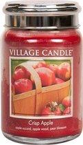 Village Candle Large Jar Crisp Apple