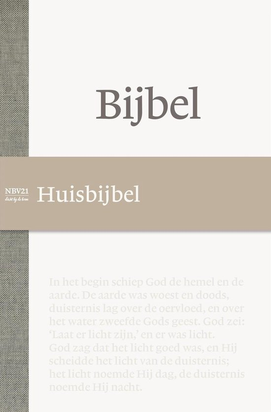 Boek cover NBV21 - Huisbijbel van Nbg (Hardcover)