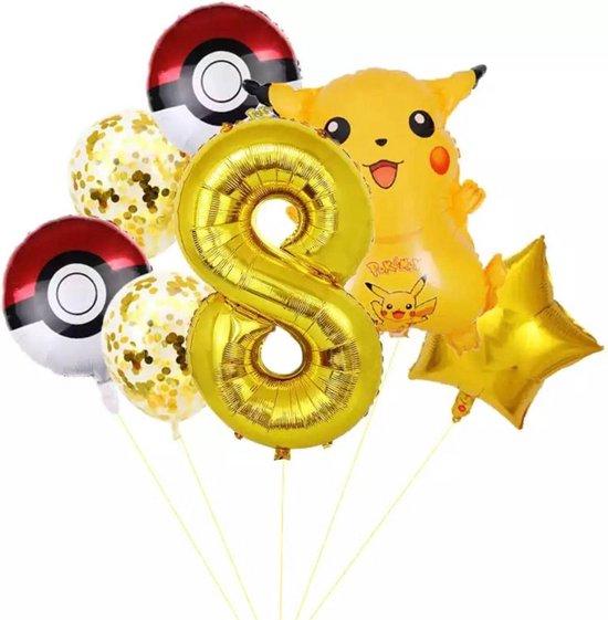 Pokemon Ballon Droom Thema Party Decoratie Benodigdheden Pikachu Verjaardagsfeestje , Nummer 8