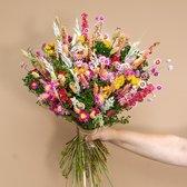 Roselin Deco - Droogboeket Linda - kleurrijke droogbloemen