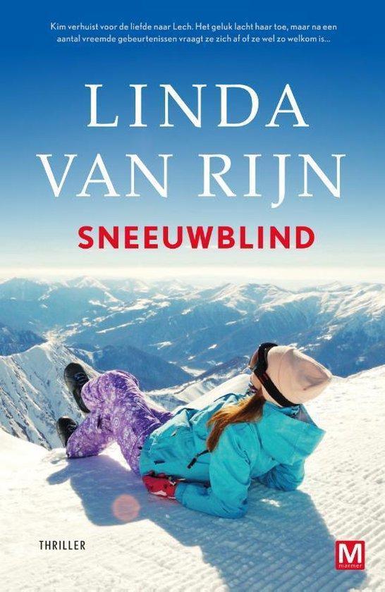 Boek cover Sneeuwblind van Linda van Rijn (Paperback)