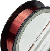 vislijn - vislijn helder - visdraad - nylon - 0.23mm - 100 Meter