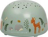 Projector lamp / sterrenprojector: Bosvriendjes dieren | A Little Lovely Company