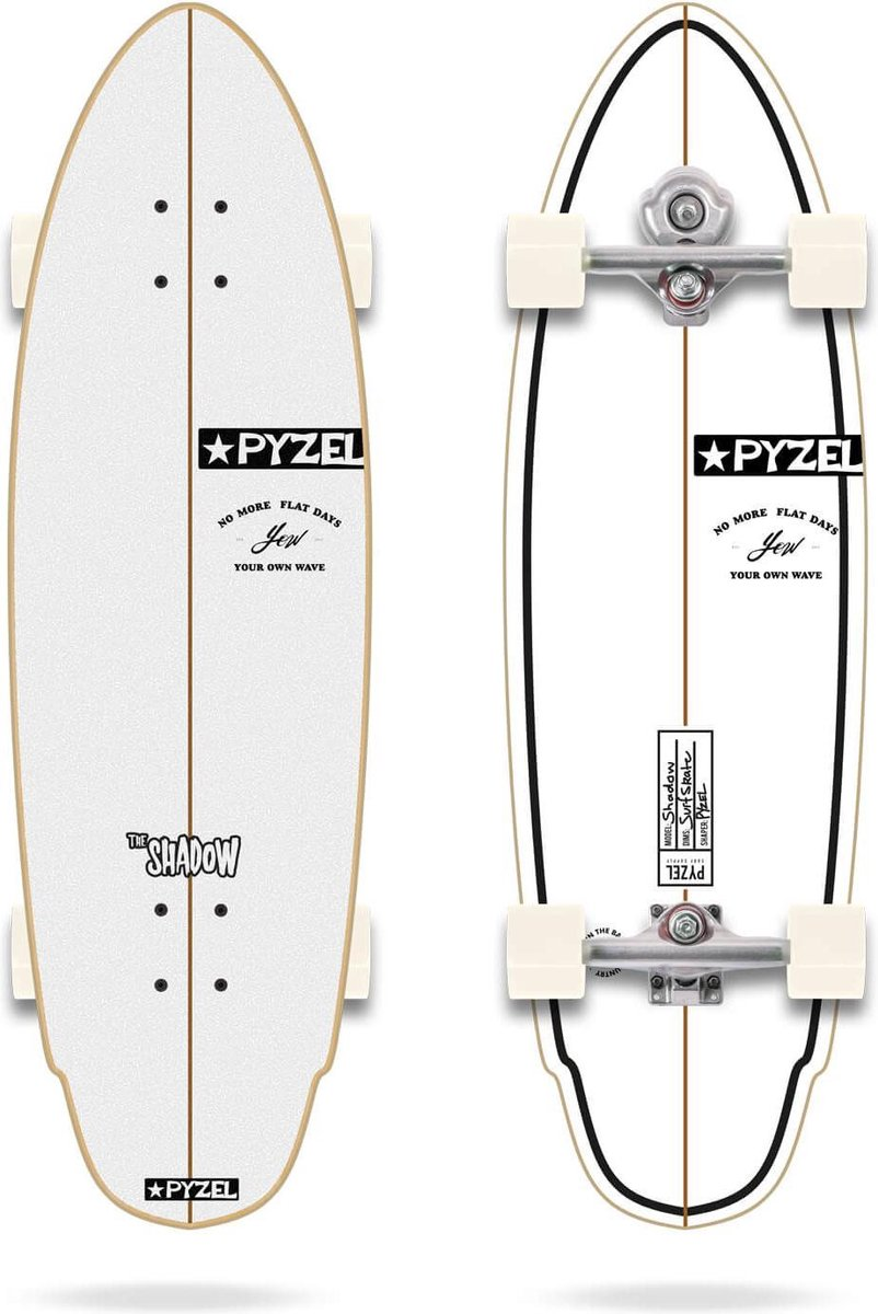 YOW x Pyzel Shadow surfskate 33.5