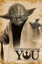 Star Wars poster - Yoda - Force - 61 x 91.5 cm
