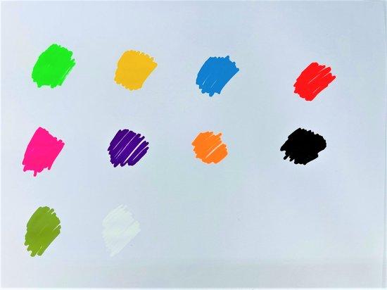 Raamstiften - Krijtstiften - krijtmarkers - glasstiften - raamtekenstiften - window markers - set van 10 Stiften
