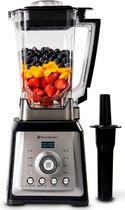 KitchenBrothers Power Blender - 2000W - 2L - Smoothies - IJscrusher - 8 Standen - 4 Snelheden - RVS