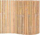 vidaXL Tuinhek 1000x30 cm bamboe