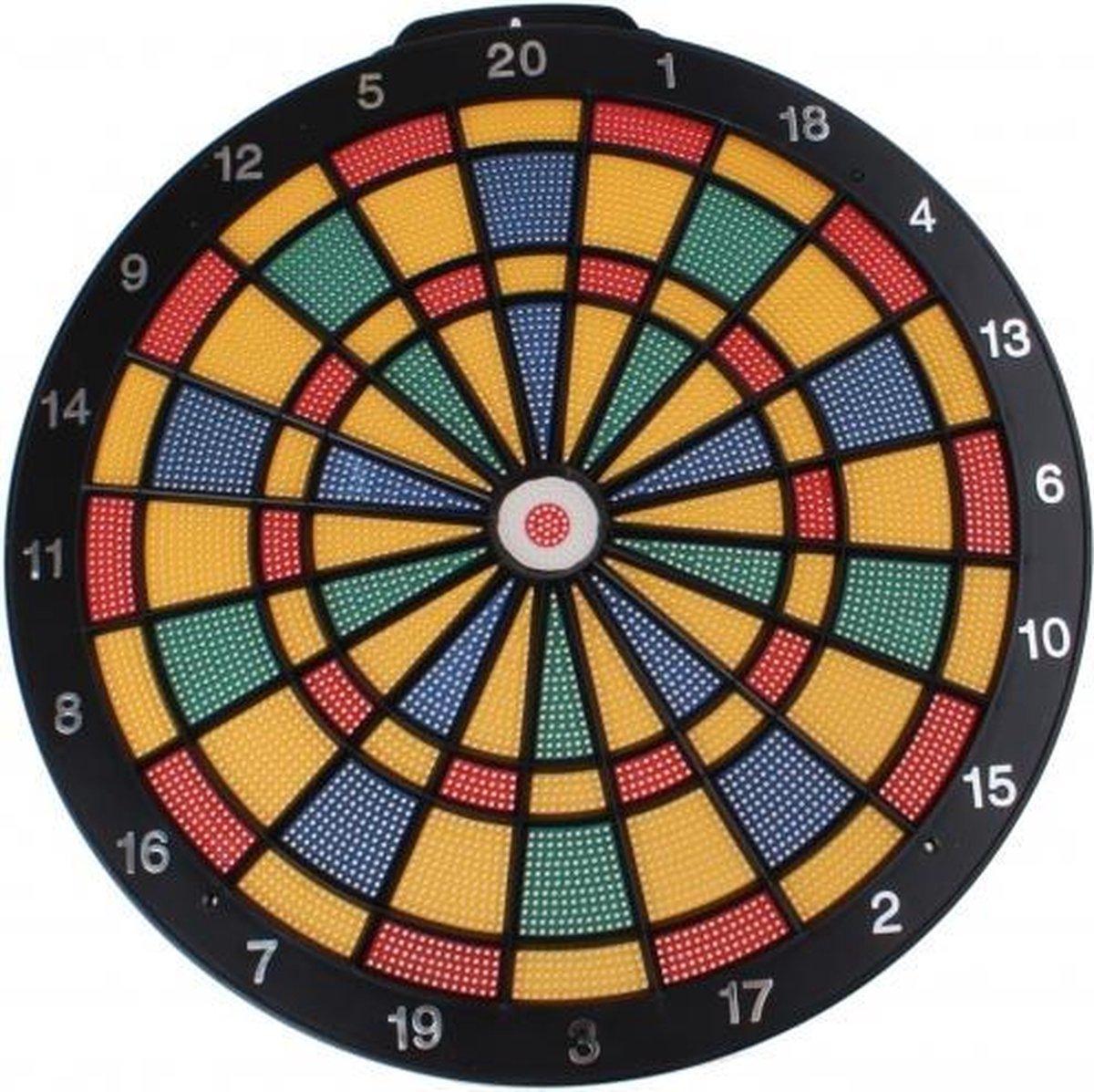 dartbord Safty 40 cm met 6 pijlen